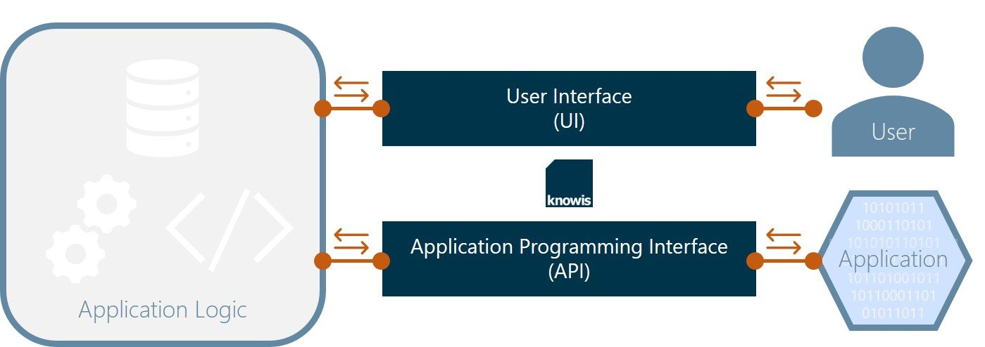 API versus User Interface