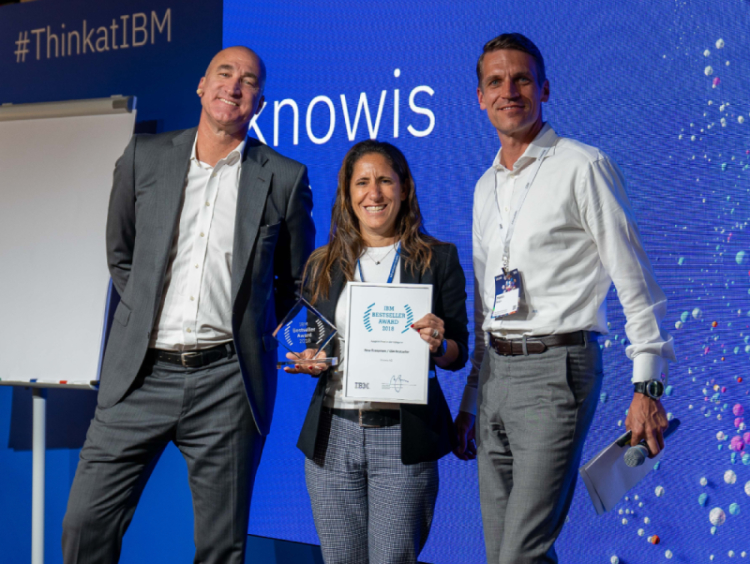 knowis receives IBM Bestseller Award