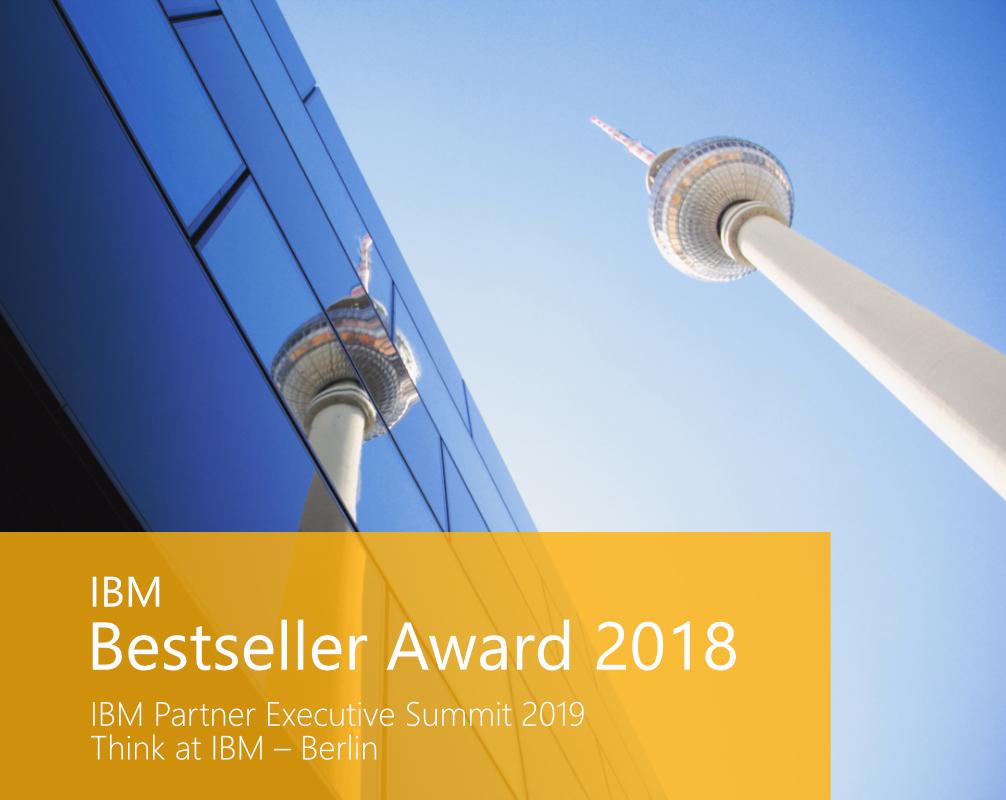 IBM Bestseller Award 2018