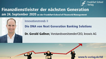 knowis-Vortrag: Die DNA von Next Generation Banking Solutions
