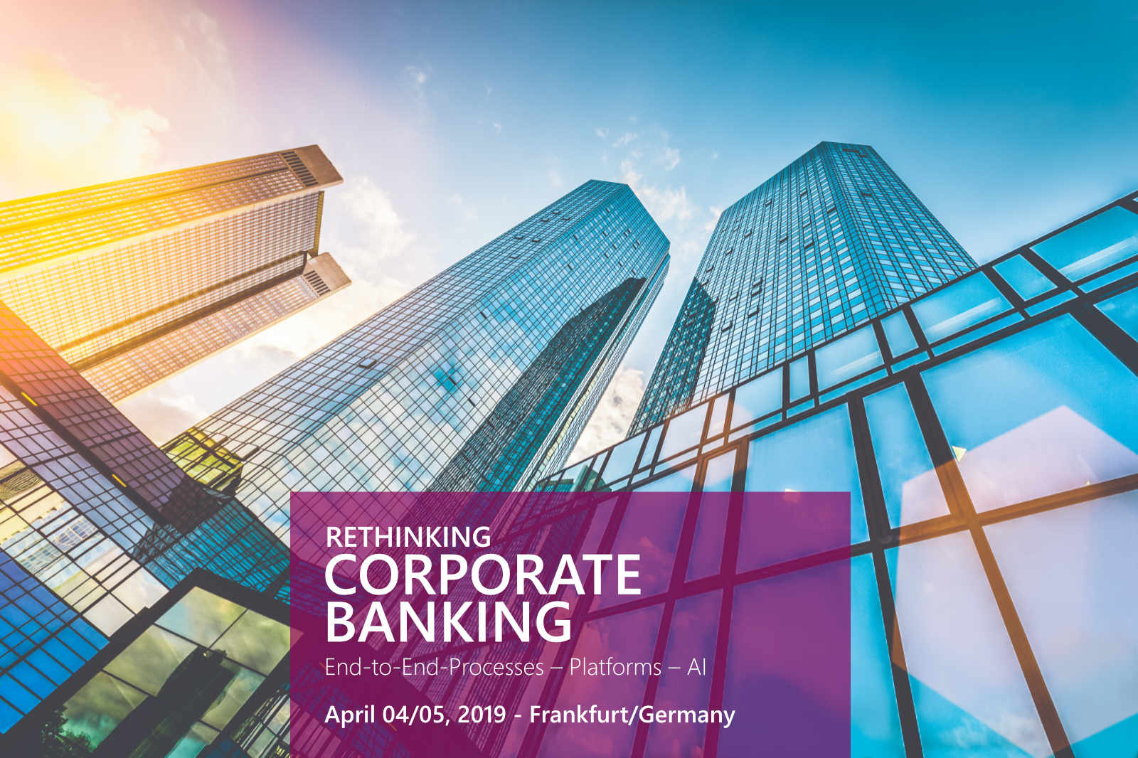 Rethinking Corporate Banking - Euroforum 2019