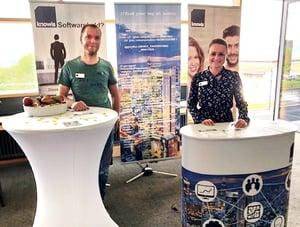 knowis at 'Unternehmerboerse' 2018 in Hof