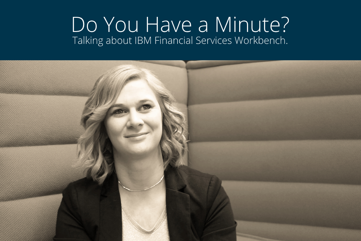 Michaela Santl, head of engineering at knowis AG, on IBM Financial Services Workbench