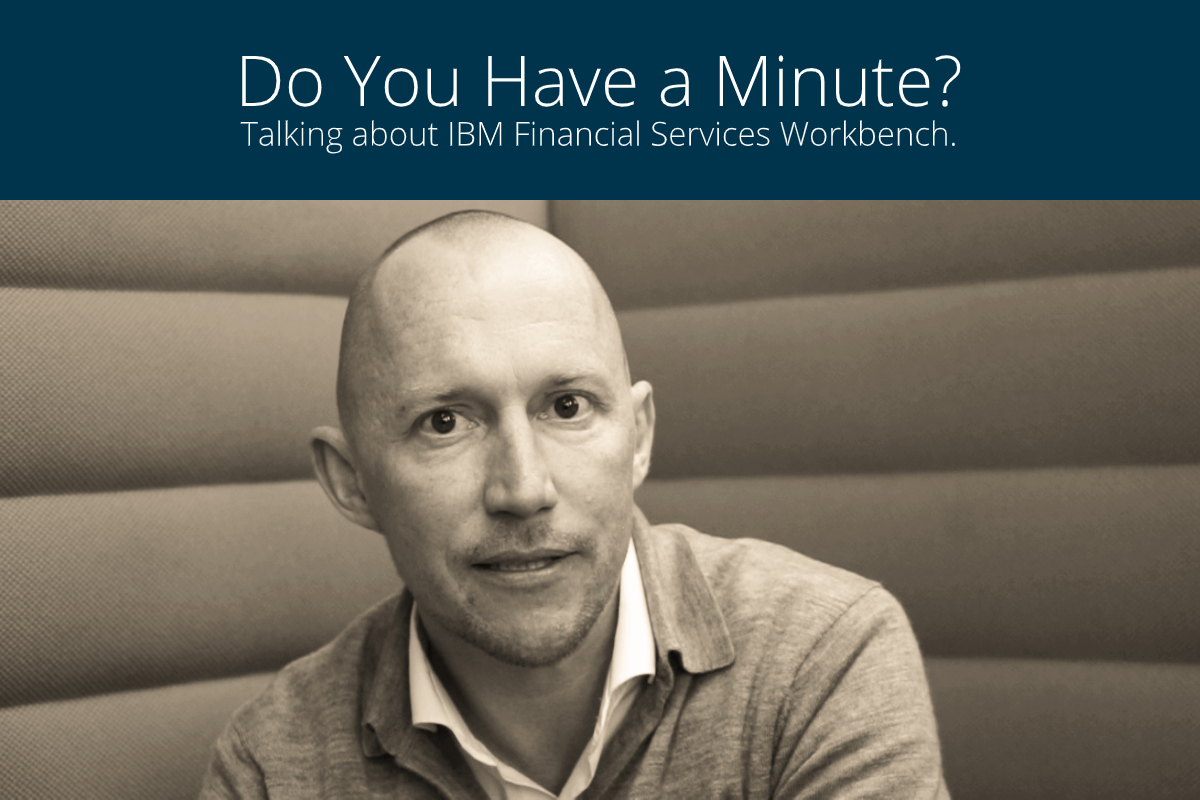 Christian Sternkopf, VP product management at knowis AG, on IBM Financial Services Workbench