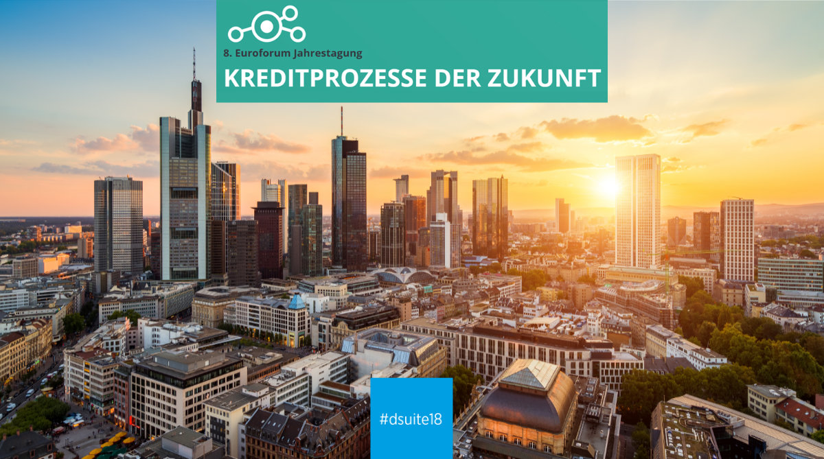 Credit processes of the future – Commerzbank and knowis at the 8th Euroforum in Frankfurt