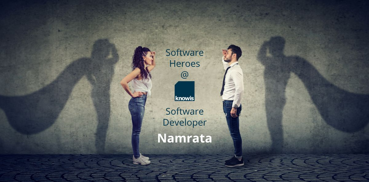 Softwarehelden @ knowis: Software Developer Namrata