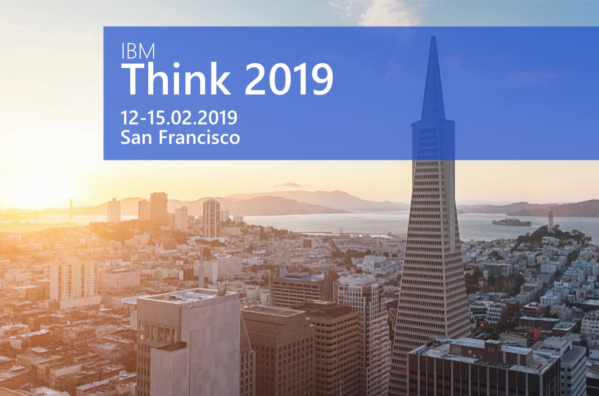 knowis auf der IBM Think 2019 in San Francisco